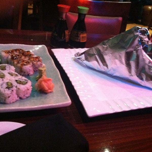 Photo taken at Sushi On The Rocks by Sherie S. on 11/9/2013