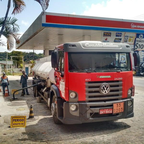 Combustível testado e de confiança!