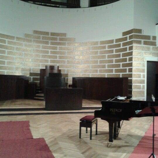 Photo taken at University of Latvia by Ekaterina N. on 1/31/2013