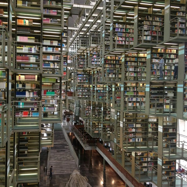 Photo taken at Biblioteca Vasconcelos by Hass L. on 6/12/2013