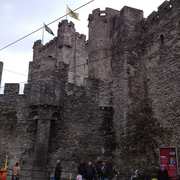 Photo taken at Castle of the Counts by Joris G. on 3/17/2013