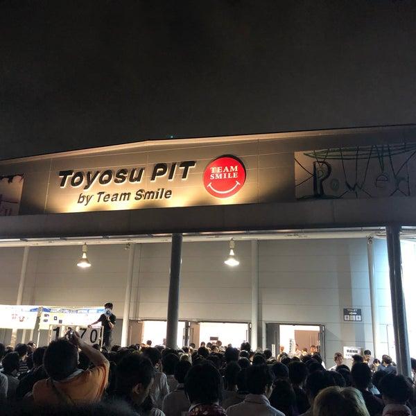 9/23/2018にくぁ く.がチームスマイル・豊洲PITで撮った写真