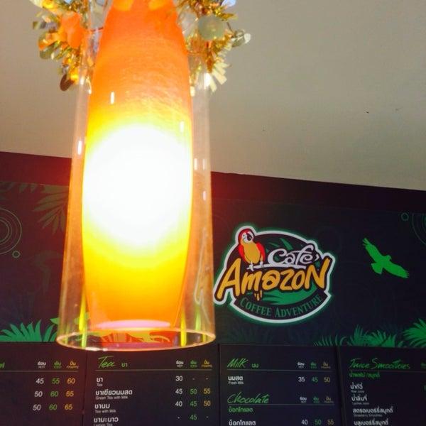 Photo taken at Café Amazon by Pop W. on 1/5/2014