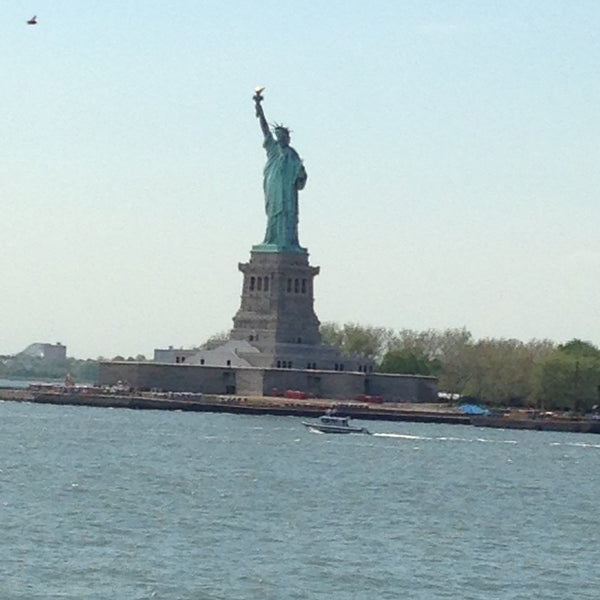 Photo taken at New York Harbor by Fulya N. on 5/16/2013