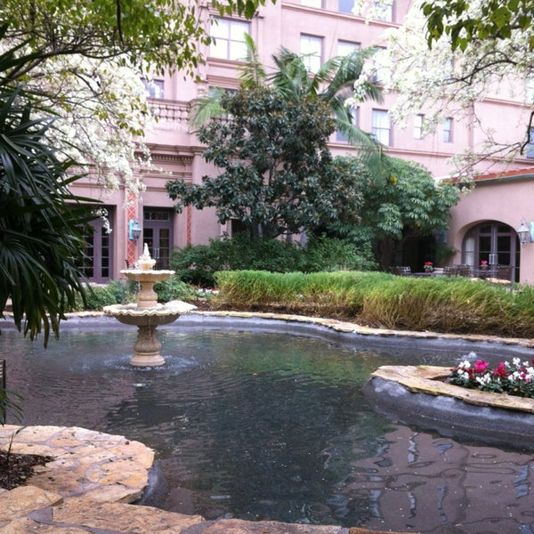 Photo taken at Langham Huntington Hotel by Chuck W. on 2/5/2013
