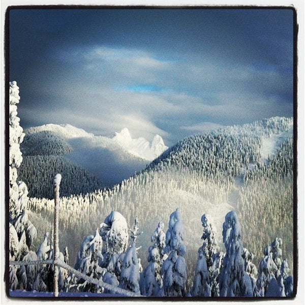 Photo taken at Cypress Mountain Ski Area by Jerkwithacamera on 12/27/2012