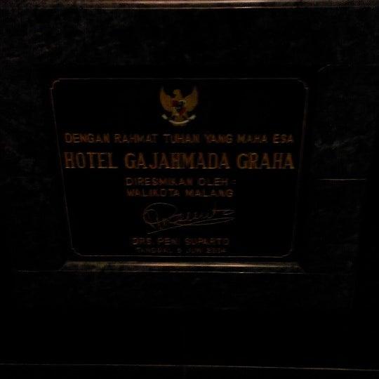Photo taken at Hotel Gajahmada Graha by Amir Hamzah A. on 6/13/2014