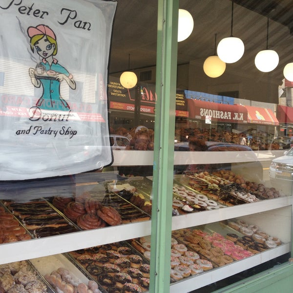 Photo taken at Peter Pan Donut & Pastry Shop by Kristin M. on 5/16/2013
