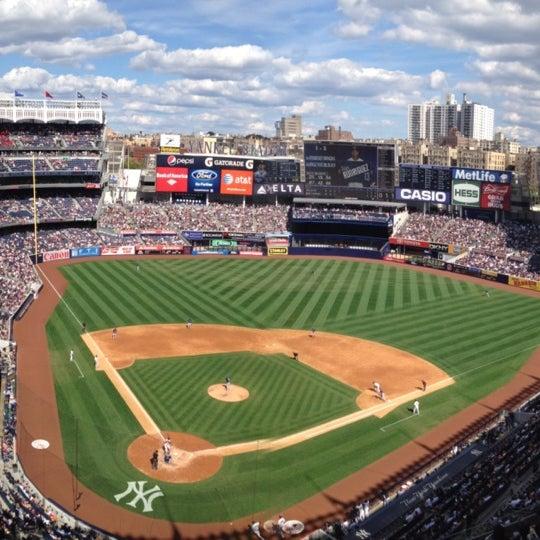 Photo taken at Yankee Stadium by Todd W. on 9/16/2012