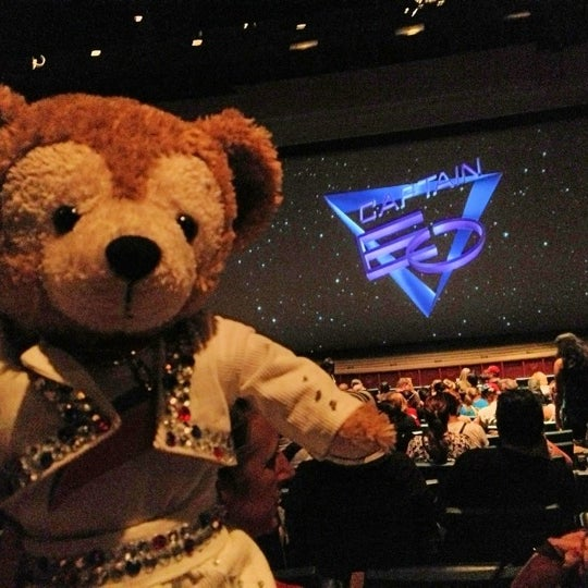 Photo taken at Captain EO by Duffy Bear on 11/10/2012