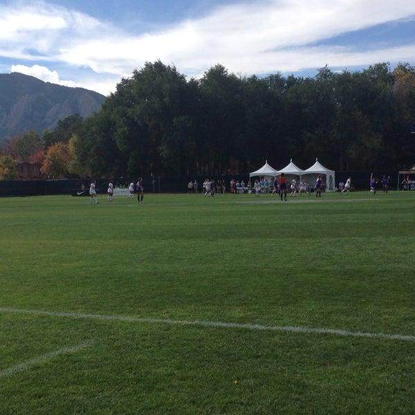 Photo taken at Prentup Field by Mark W. on 10/26/2014