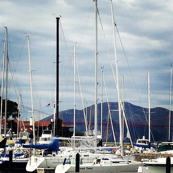 Photo taken at Golden Gate Yacht Club by 👸 Michele T. on 12/29/2012