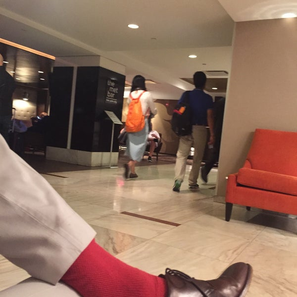 Photo taken at DoubleTree by Hilton Hotel Metropolitan - New York City by William O. on 9/18/2015