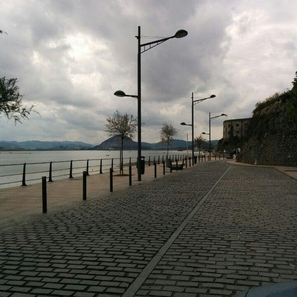Photo taken at Santoña by Iban N. on 4/20/2014