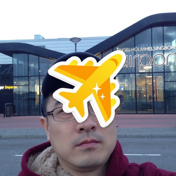 Photo taken at Ängelholm-Helsingborg Airport (AGH) by Dongho H. on 4/29/2015