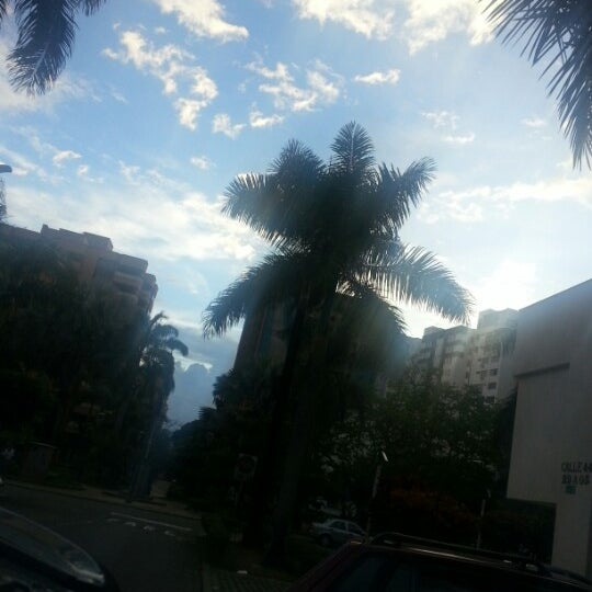 Photo taken at Parque Las Palmas by Juan G. on 8/18/2013
