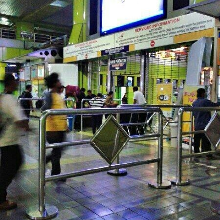 Photo taken at Stasiun Gambir by Akbar K. on 2/3/2013