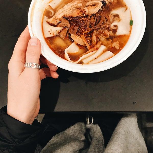 Вкусно! Суп с говядиной очень вкусный. Взяла средней остроты и было прям очень вкусно.