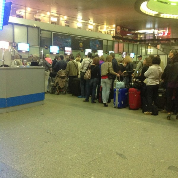 Photo taken at Check-in desk by Анастасия Г. on 4/29/2013
