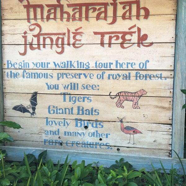 Photo taken at Maharajah Jungle Trek by Aleyda B. on 6/20/2016