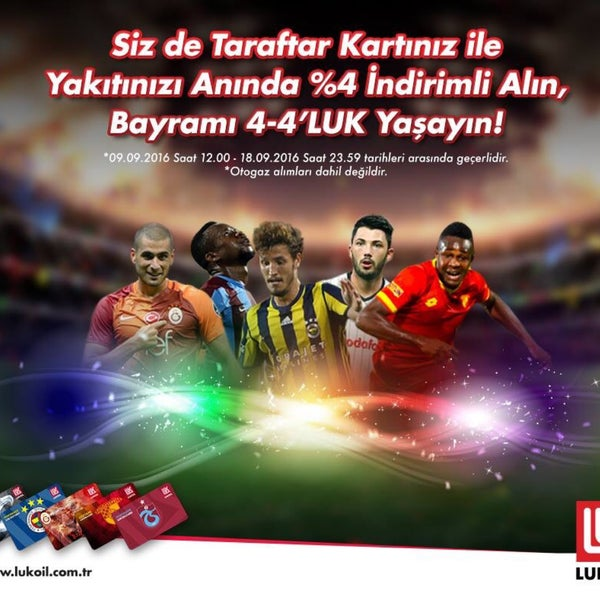 4-4'LUK bayram kampanyamız ile enerjinizi ikiye katlayın! #LukoilTürkiye#YılmazPetrol#Yozgat