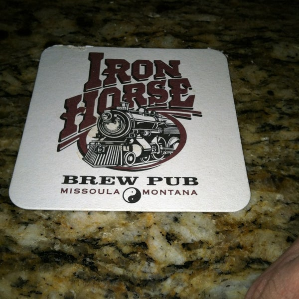Photo taken at Iron Horse Brew Pub by Dan S. on 2/28/2013