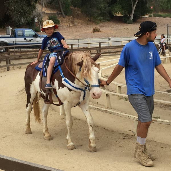Photo taken at Griffith Park Pony Rides by Dale K. on 8/2/2017