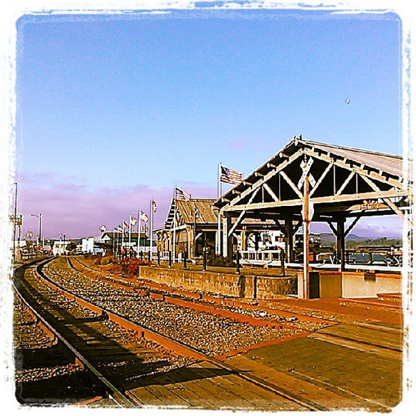Photo taken at Coos Bay Boardwalk by Michael A. on 9/14/2013
