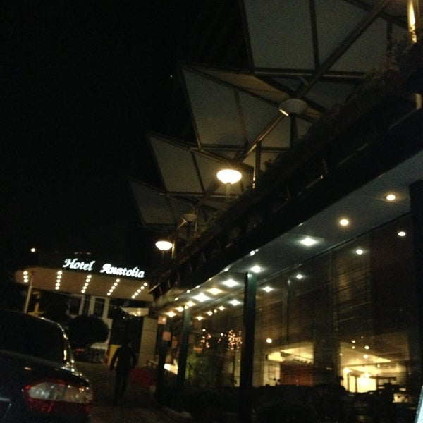 2/20/2013 tarihinde Serkan K.ziyaretçi tarafından Anatolia Hotel'de çekilen fotoğraf
