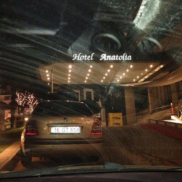 2/21/2013 tarihinde Serkan K.ziyaretçi tarafından Anatolia Hotel'de çekilen fotoğraf