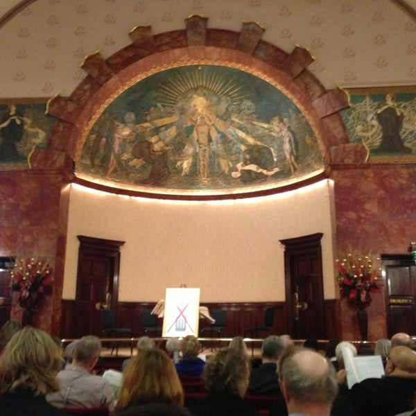 Photo taken at Wigmore Hall by Barry G. on 12/28/2012