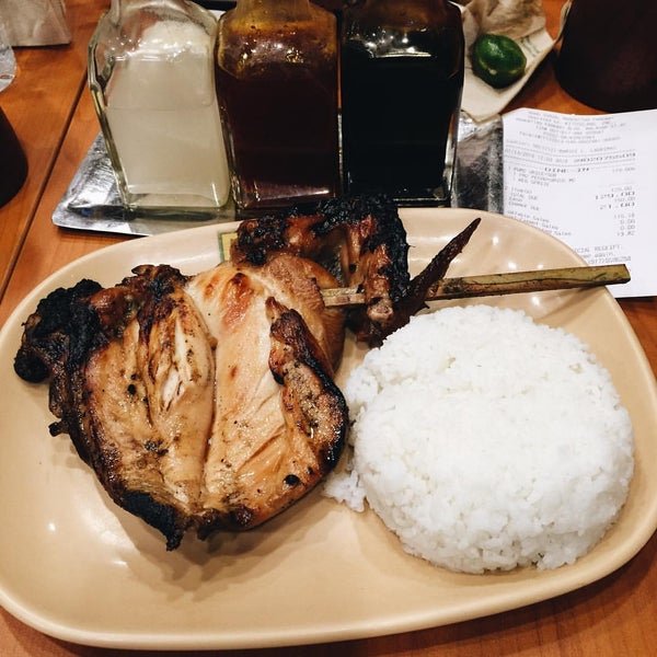 the manginasal Bacolod city's chicken inasal is a popular dish from the city of smiles it is not marinated or prepared like the usual chicken barbeque found in the rest of the country the marinate does not make use of soy sauce and consists of other ingredients to create a unique flavor found only in this part of the philippines.