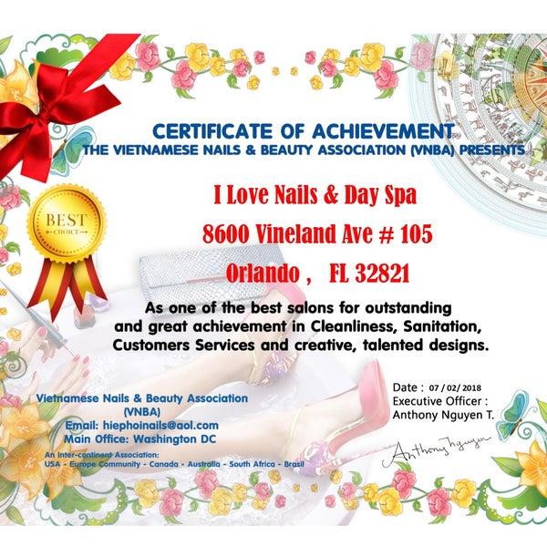 iLove Nails & Day Spa - Orlando, FL
