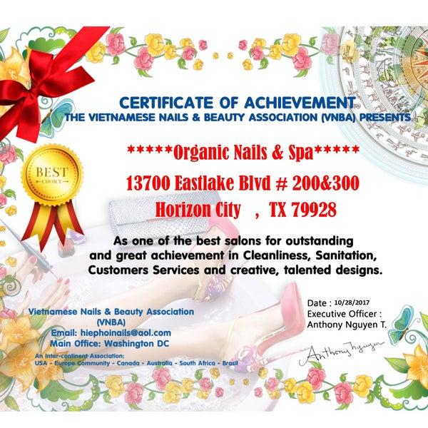 Organic Nails & Spa - El Paso High - 4 tips