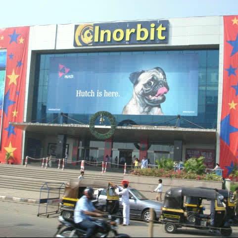 Photo taken at Inorbit Mall by Nirmit S. on 2/14/2013
