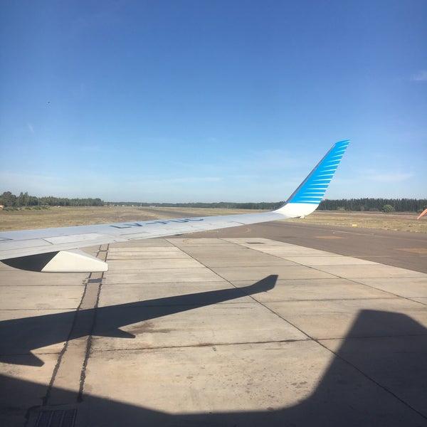 Foto tomada en Aeropuerto Internacional del Neuquén - Presidente Juan D. Perón (NQN) por Jeronimo G. el 12/11/2017