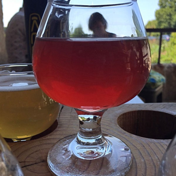 Photo taken at Haw River Farmhouse Ales by Dave R. on 8/5/2017