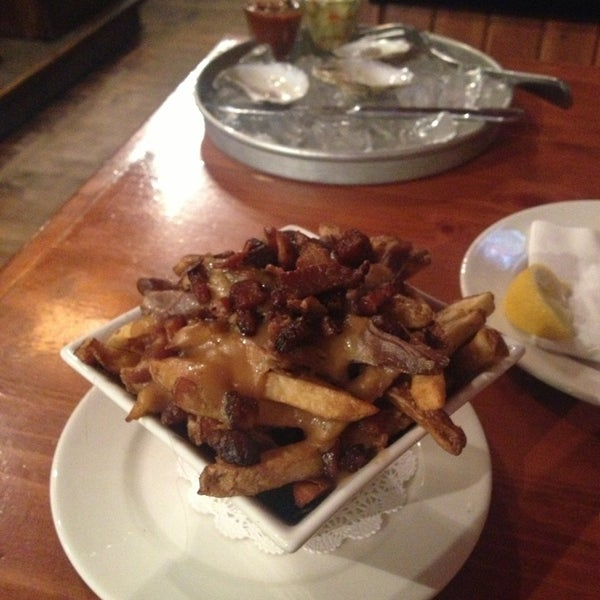 Duck confit and bacon poutine. Amazing. Have I mentioned bacon?