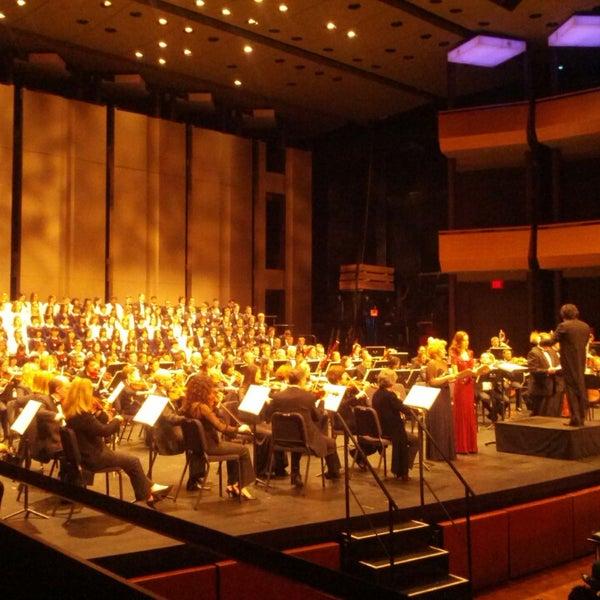 Photo taken at Rose Theater by Mari M. on 3/23/2013