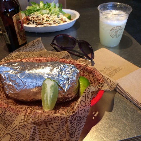 Photo taken at Chipotle Mexican Grill by Brittany M. on 1/18/2014