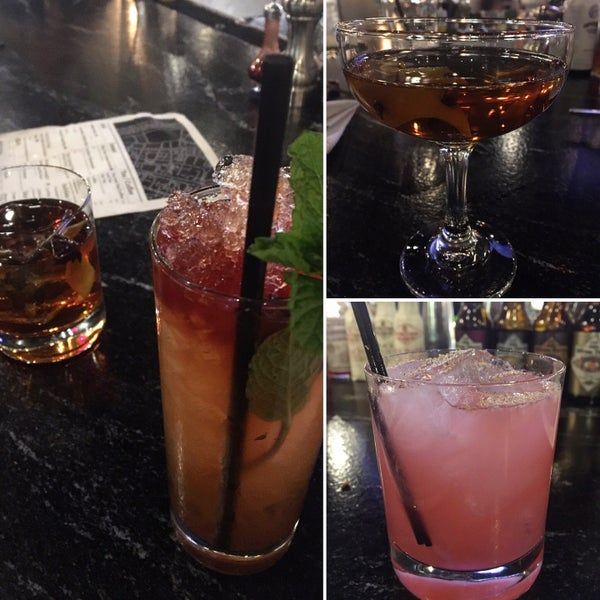 Cocktails are Amazingg...  Appetizers are just ok