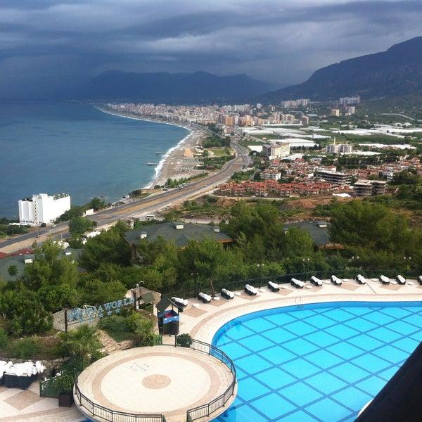 5/14/2013 tarihinde Ольга З.ziyaretçi tarafından Utopia World Hotel'de çekilen fotoğraf