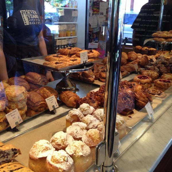 Photo taken at Seven Stars Bakery by Andrew M. on 6/2/2014