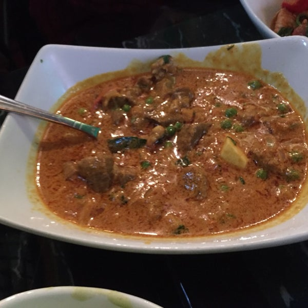 lamb curry with rice was the highlight of our meal