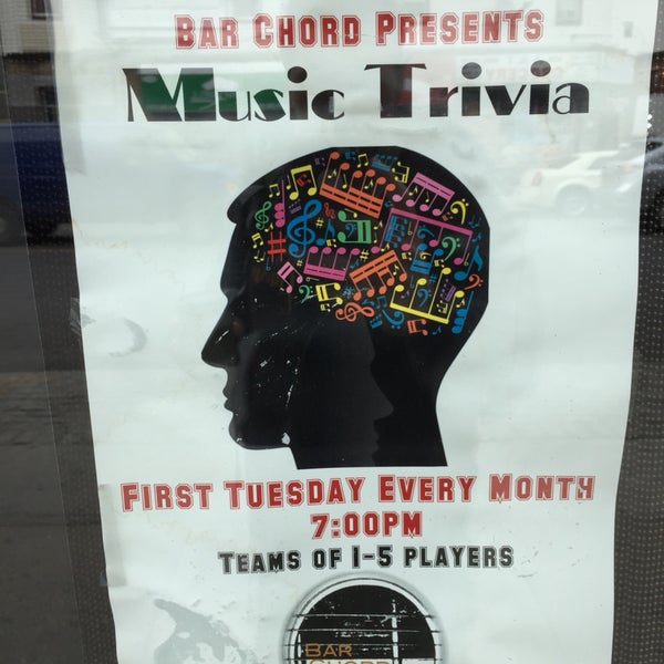music trivia first tuesdays at 7pm