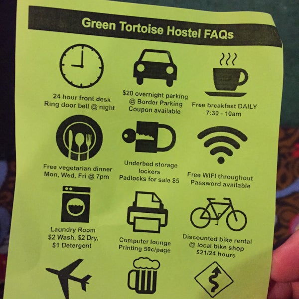 Photo taken at Green Tortoise Hostel by Nate F. on 10/26/2015