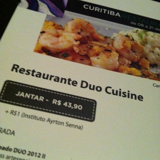 Photo taken at Duo Cuisine by Felipe M. on 10/12/2012