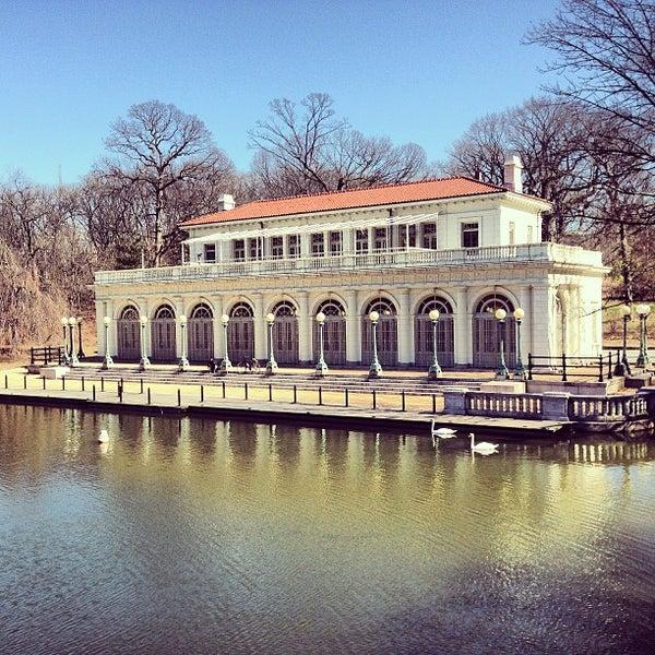 Photo taken at Prospect Park Boathouse & Audubon Center by Richy T. on 3/17/2013