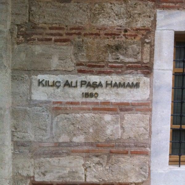3/23/2013 tarihinde barischziyaretçi tarafından Kılıç Ali Paşa Hamamı'de çekilen fotoğraf