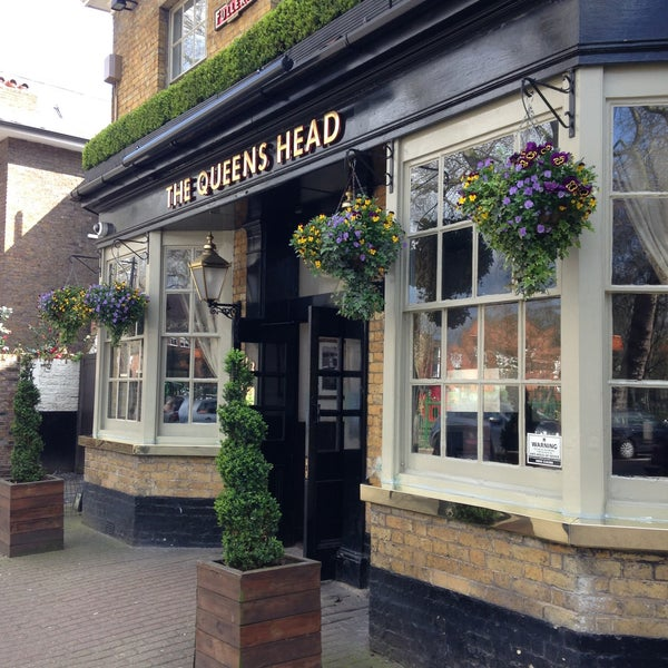 the queens head pub in hammersmith. Black Bedroom Furniture Sets. Home Design Ideas